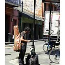 """""""Musical Aspirations""""/ French Quarter Street Preformers  by Sandra Russell"""