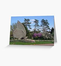 The Sophia M. Sachs Butterfly House Greeting Card