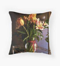 Classical Moderne Throw Pillow