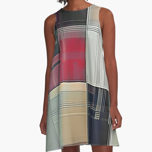 Lines/Abstract Q1 A-Line Dress
