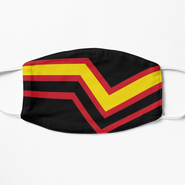 Rubber Pride Flag Flat Mask