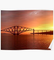 Dawning of the day:  The Rail Bridge South Cantilever. #2 Poster