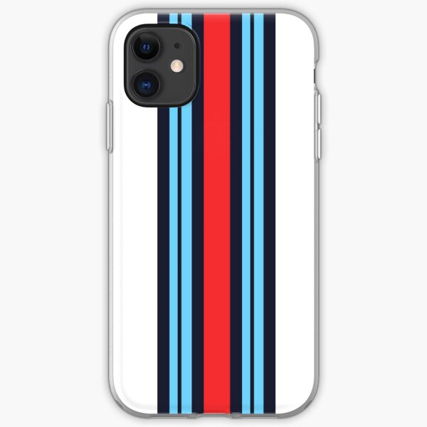 Martini Racing Colours iPhone Soft Case