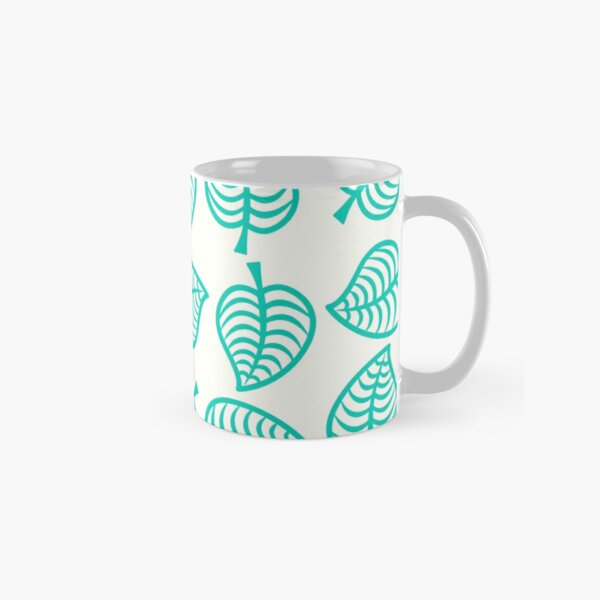 Island Life Pattern   Animal Crossing New Horizons Inspired Pattern Classic Mug