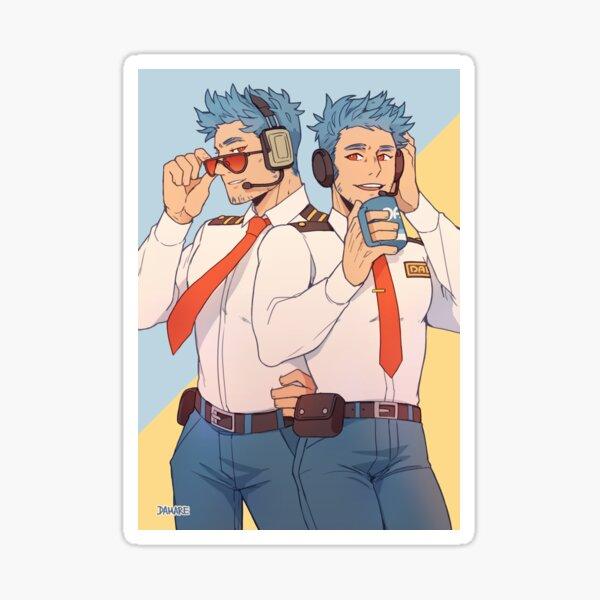 Wilbur & Orville  Sticker