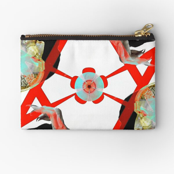 The Wickedest Man in the World Zipper Pouch