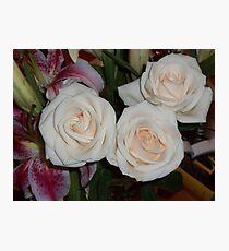...yesterday in the House are enjoying roses..piu' di 1200 visualizzaz ad oggi  dicembre 2012   VISUALIZZAZIONI  2012---RB EXPLORE 17 APRILE 2012 --- Photographic Print