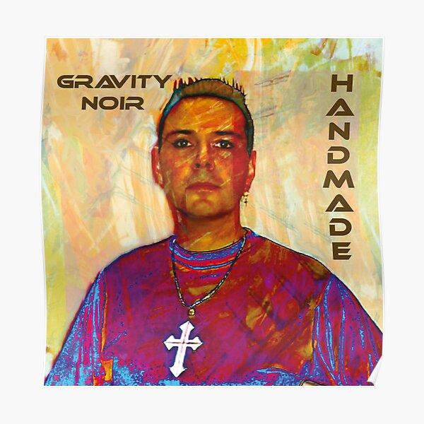 Gravity Noir Handmade Poster