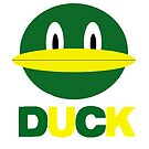 Duck - Green and Yellow by Almeister5000