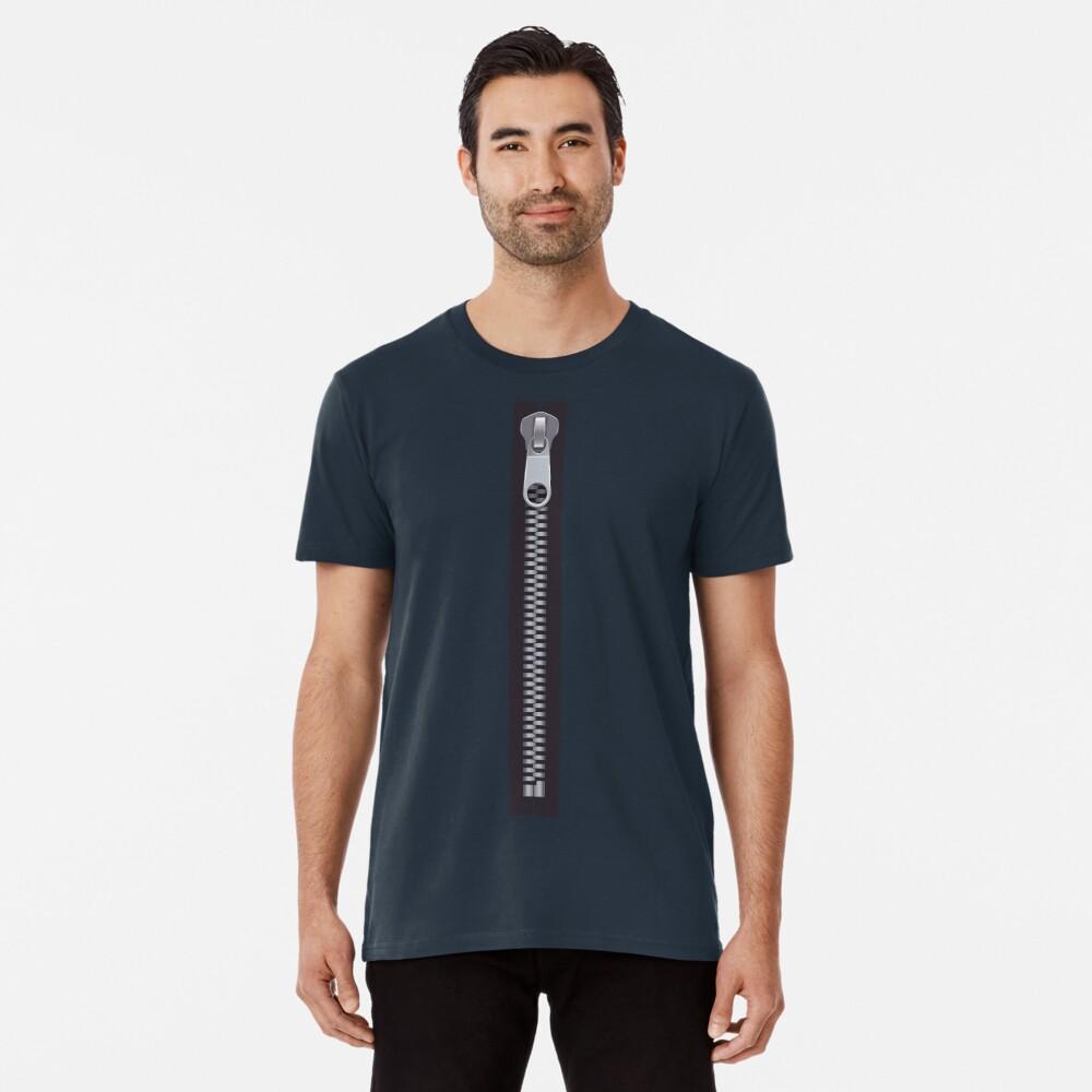 Zipper Premium T-Shirt