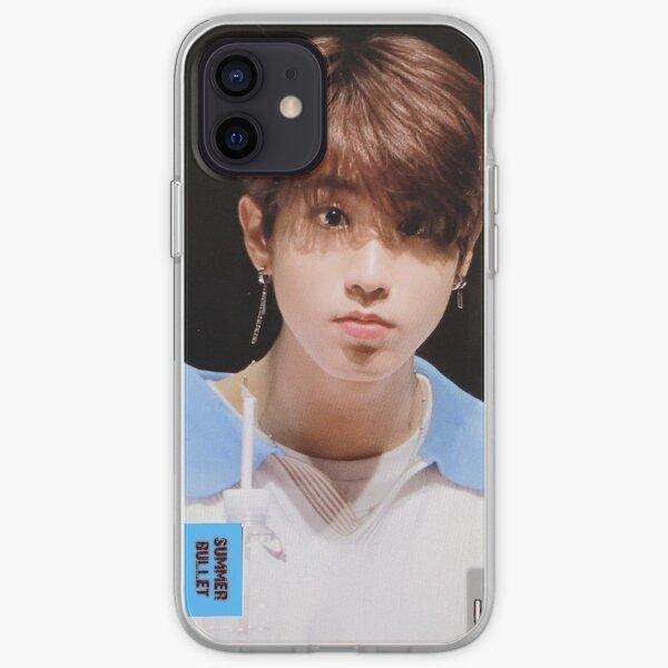 Han Jisung Stray Kids 3racha hot blue iPhone Soft Case