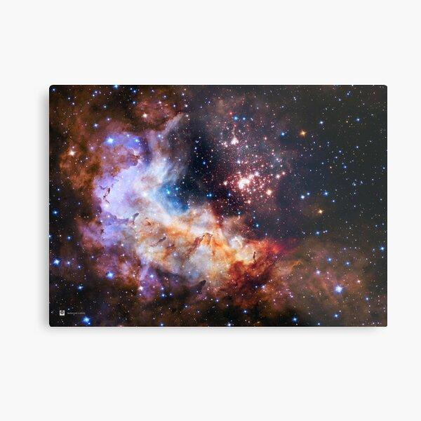Hubble Telescope: Westerlund 2 (2015) Metal Print