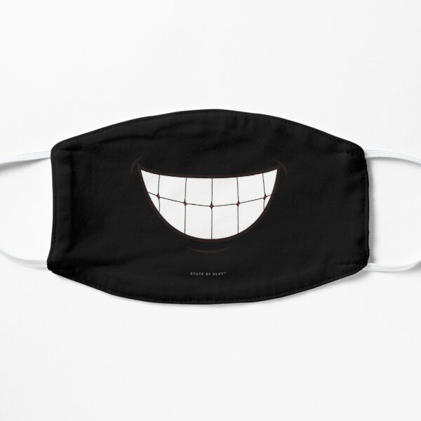 State Of Slay™ - Grin Blk Flat Mask