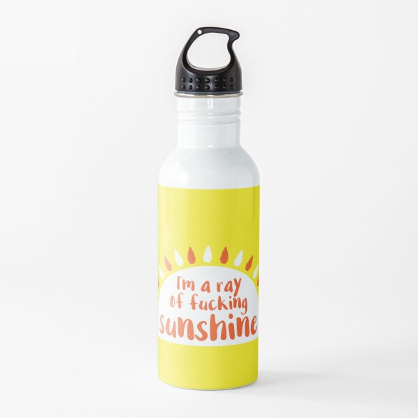 I'm A Ray of Fucking Sunshine Water Bottle