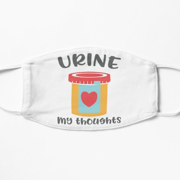 Urine My Thoughts T-shirt Mask