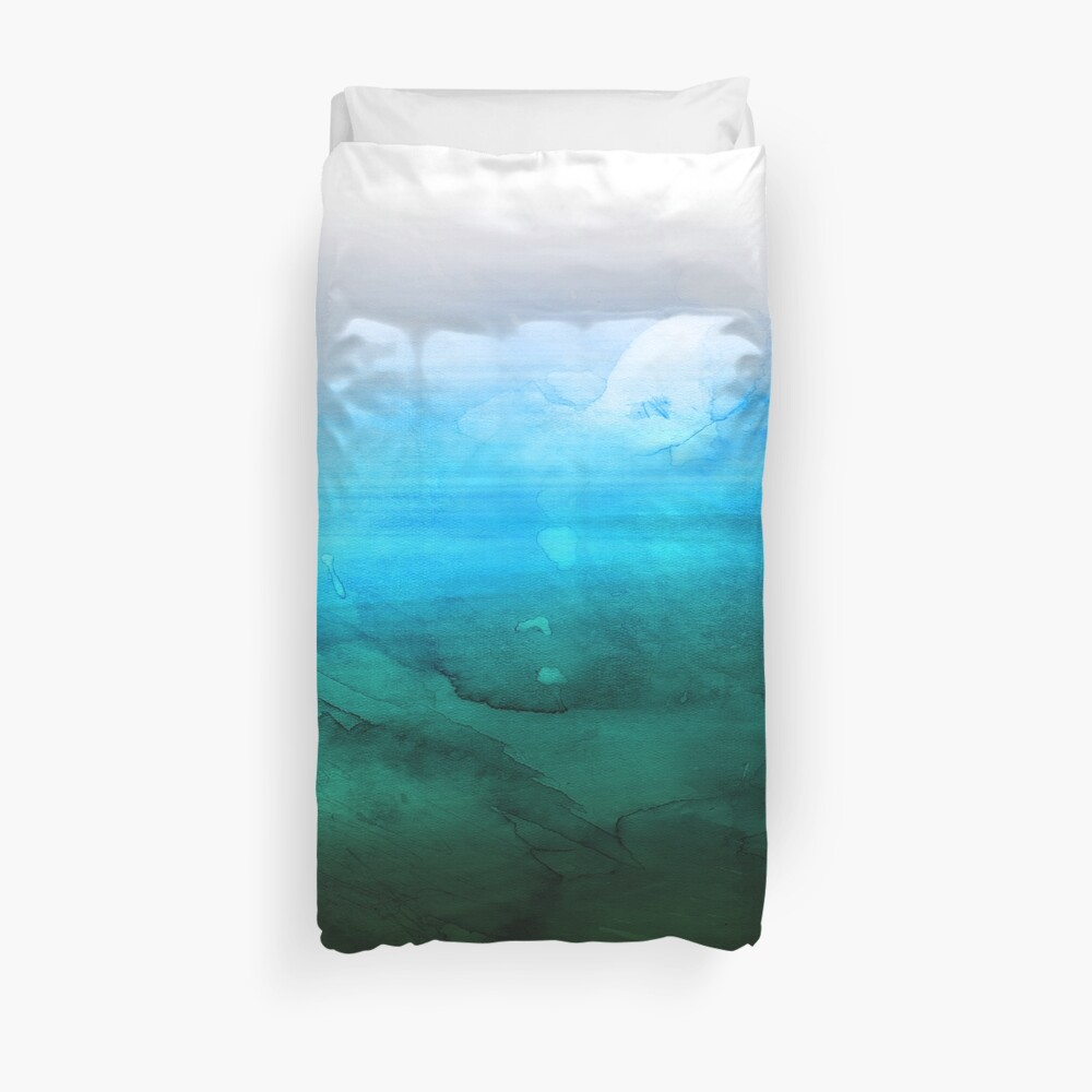 Green Lagoon Duvet Cover