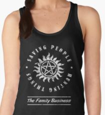 Supernatural Family Business Quote Women's Tank Top