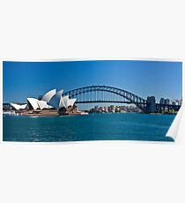 Postcard Sydney Poster