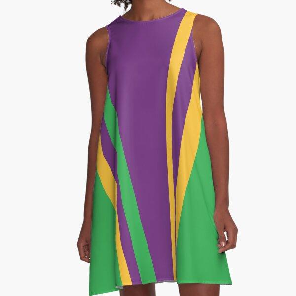 Panisregis Purpura A-Line Dress