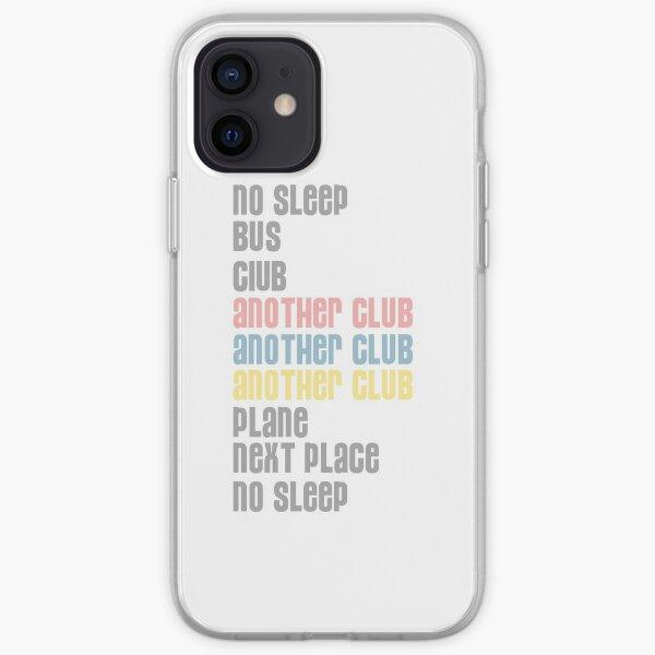 Pas de sommeil, bus, club, un autre club Coque souple iPhone
