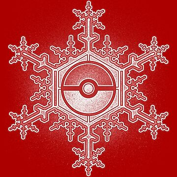 Pokeball Snowflake by Punksthetic