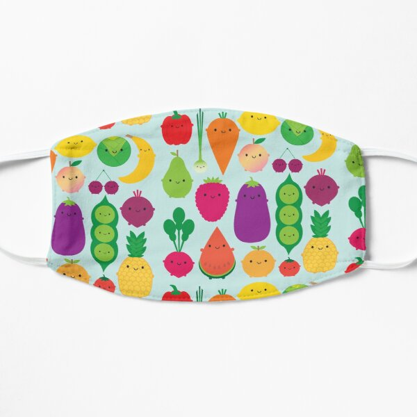 5 A Day Fruit & Vegetables Flat Mask