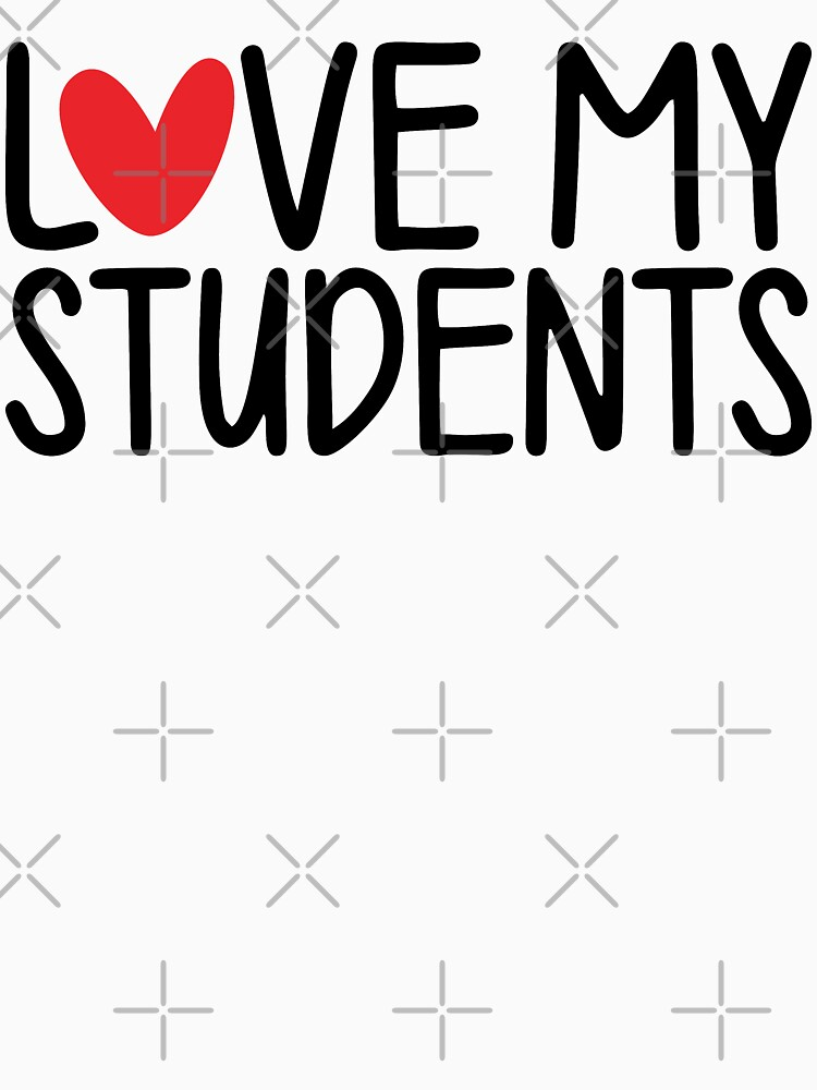 Teacher Valentine - Love My Students by wantneedlove