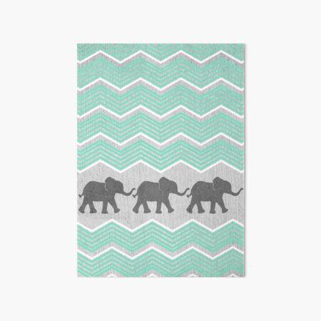 Drei Elefanten Galeriedruck
