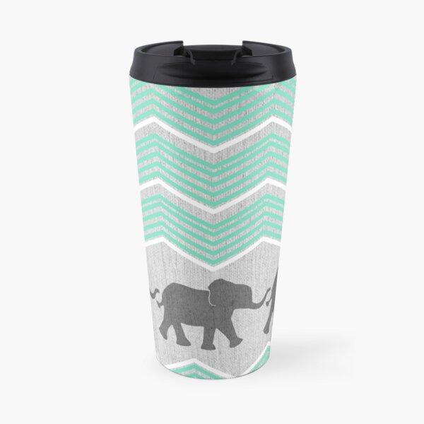 Three Elephants Travel Mug
