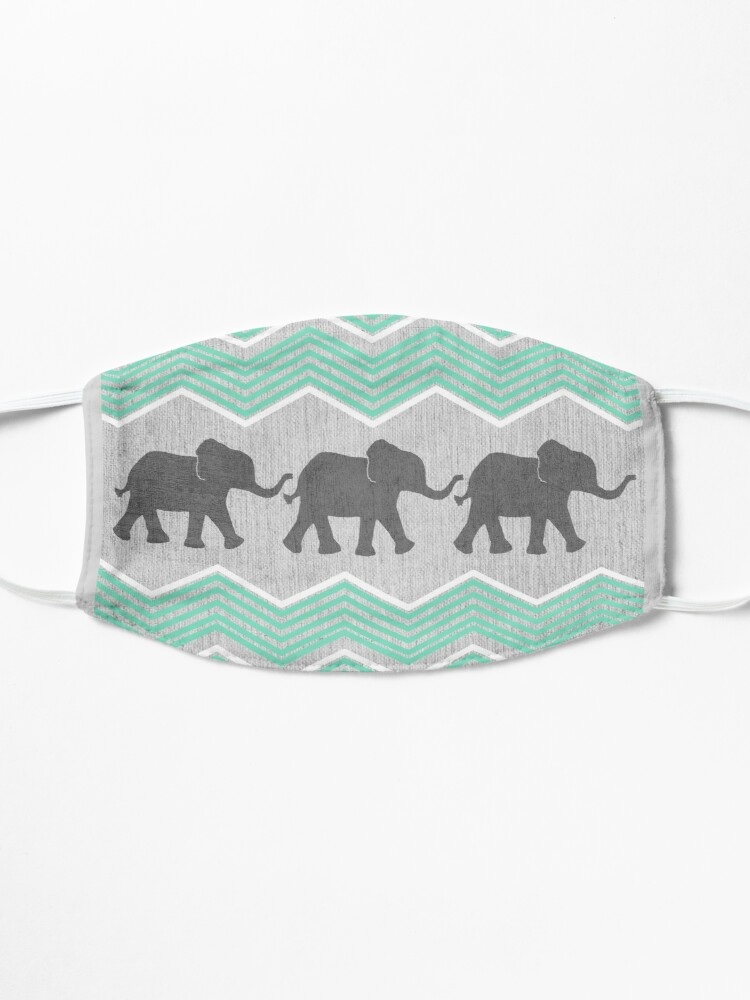 Alternate view of Three Elephants Mask
