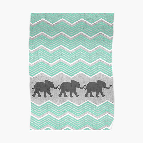 Three Elephants Poster