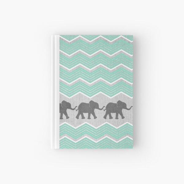 Three Elephants Hardcover Journal