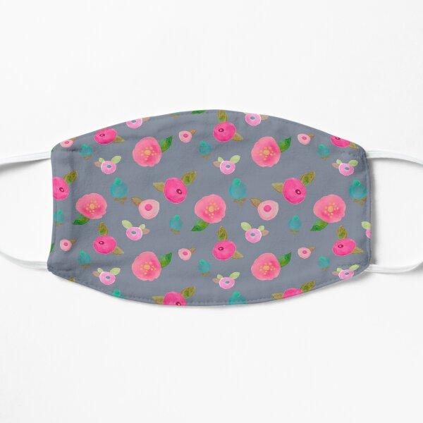 Vibrant Floral Gouache Mask