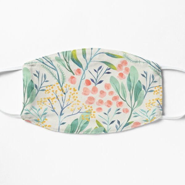 Botanical Garden Flat Mask