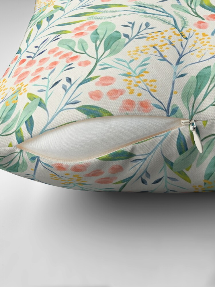 Alternate view of Botanical Garden Floor Pillow