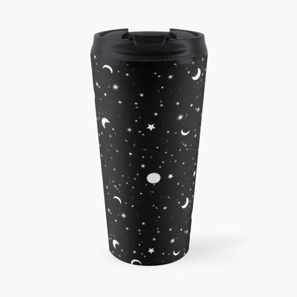 Black Universe Travel Mug