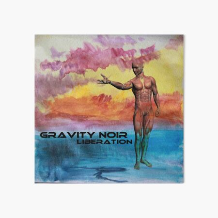 Gravity Noir Liberation by Andrew Williams Art Board Print