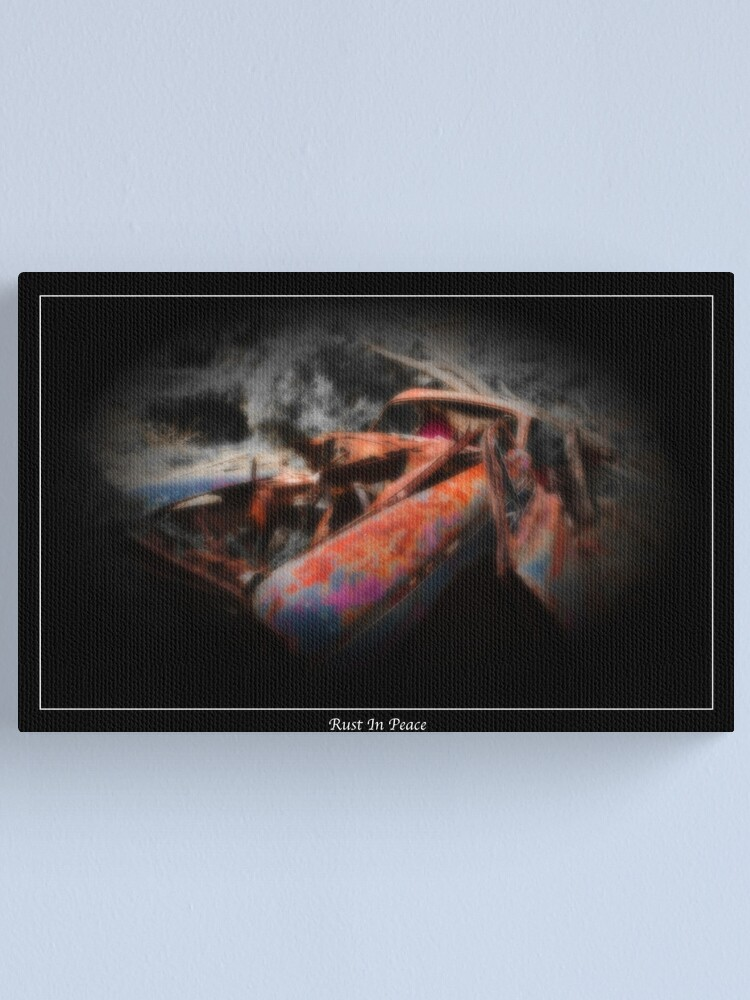 Alternate view of Rust  In Peace II Canvas Print