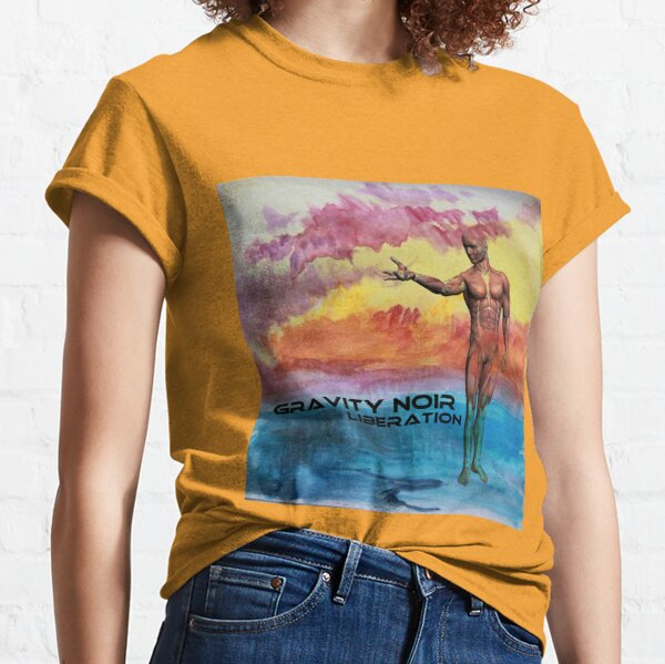 Gravity Noir Liberation by Andrew Williams Classic T-Shirt