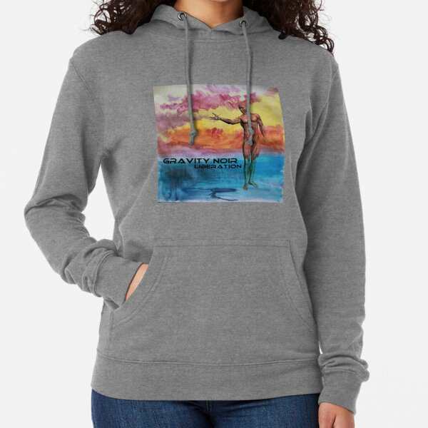 Gravity Noir Liberation by Andrew Williams Lightweight Hoodie