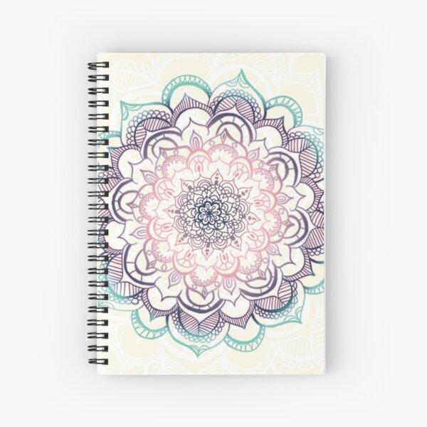 Mermaid Medallion Spiral Notebook