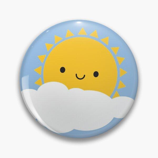 Hello Sunshine - Kawaii Sun  Pin