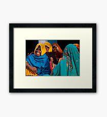 Bright Veils Framed Print