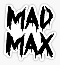 The future is mad. Sticker