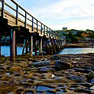WOODEN BRIDGE by normanorly