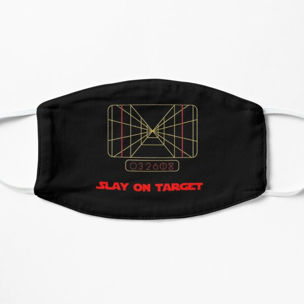 State Of Slay™ - Slay On Target Red Flat Mask