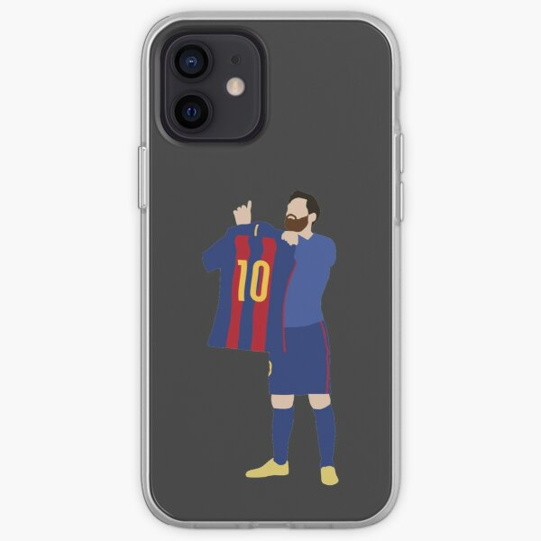 Lionel Messi. Barcelona. iPhone Soft Case
