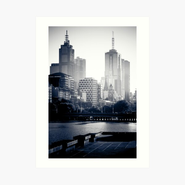 Melbourne at Sunrise Art Print