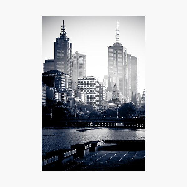 Melbourne at Sunrise Photographic Print