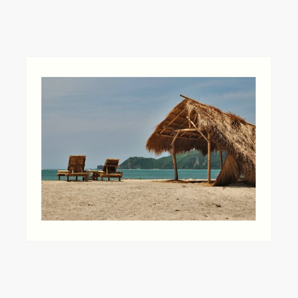 Kuta (Lombok) Beach 4 Art Print